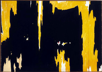 Clyfford Still's 1957-D No. 1 (click image to see more)